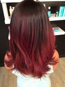 Ombré Hair Rouge : ombr hair rouge sur base brune 19 raisons d 39 y succomber ~ Melissatoandfro.com Idées de Décoration