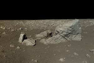 Yutu rover view of Pyramid Rock (Long Yan) | The Planetary ...