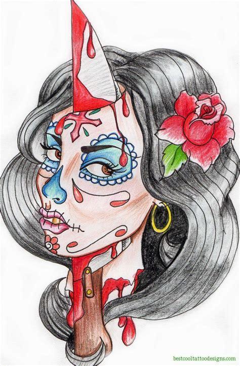 day   dead tattoo designs