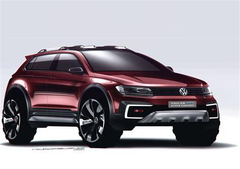 Volkswagen Shows Tiguan Gte Active Concept At Detroit Auto