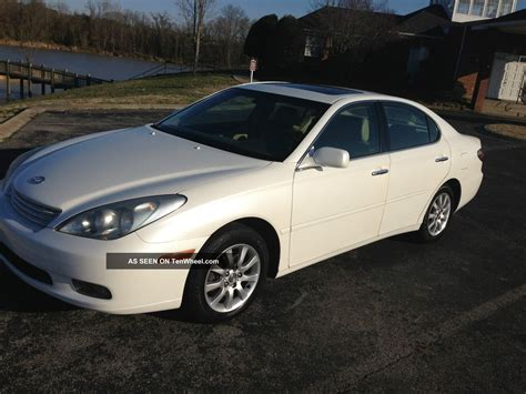 lexus coupe 2002 2002 lexus es300 base sedan 4 door 3 0l