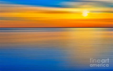 Unseen Sunset - A Tranquil Moments Landscape Photograph by ...