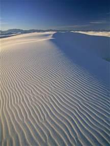 New Mexico White Sand Dunes National Park