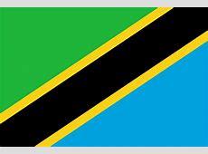 Tansania, Vereinigte Republik Flaggen der Länder