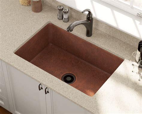 single bowl copper sink