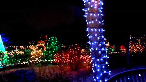 Boise, Idaho Botanical Garden Winter Aglow Show...2013