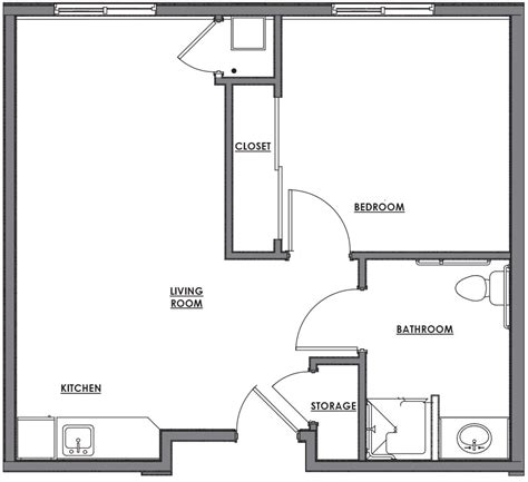 one house blueprints one room house floor plans contempary house small one