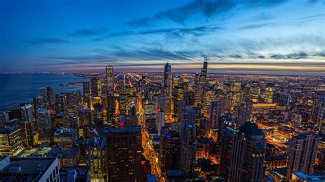 chicago city  illinois united states  ultra hd