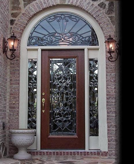Glass Entry Doors For Home by Exterior Doors With Glass Glass Designs Leaded