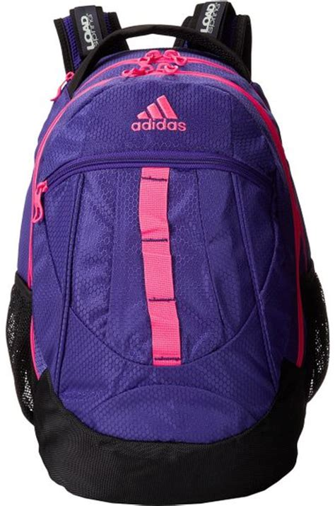 adidas  hickory backpack  purple blast purplesolar