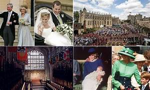 St George's Chapel: All the weddings and christenings held ...