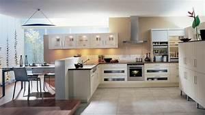 Idee cuisine ouverte sur salle a manger cuisine en image for Idee deco cuisine avec cuisine pas cher sur mesure