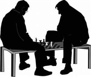 Men Playing Chess Clip Art at Clker.com - vector clip art ...
