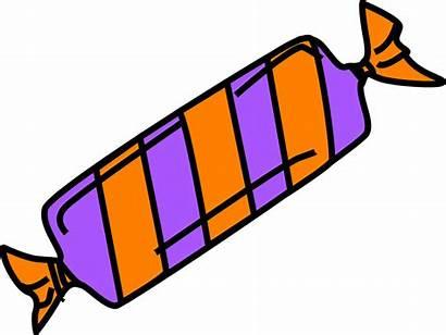Candy Cartoon Clipart Wrapper Bar Chocolate Clip