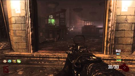 game glitched black ops  zombies survival green run