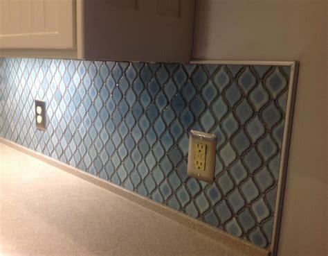 glass border tiles for kitchen arabesque tile backsplash unique and vibrant great 6805