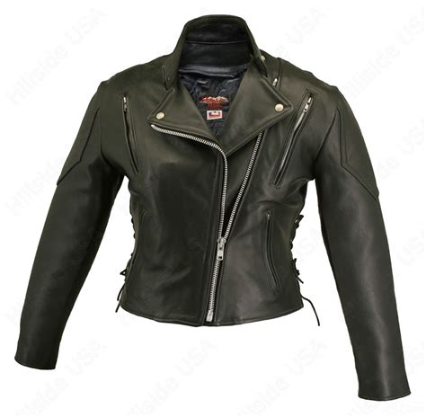 leather apparel leather motorcycle jacket hillside usa women 39 s leather jackets