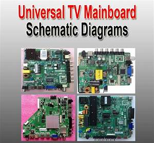 Universal Lcd  Led Tv Controller Boards Schematic Diagrams