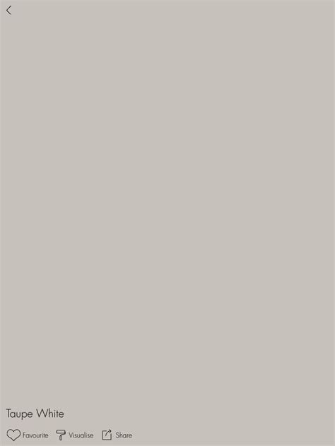dulux taupe white match to taubmans taupe grey used