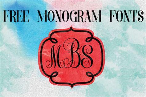 dlolleys   monogram fonts