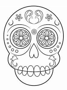 Dibujos de Calaveras para Colorear DECALAVERAS