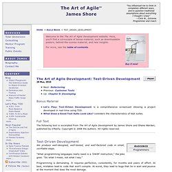 Test Driven Development Agile Resume by Tdd Development Methodology Pearltrees
