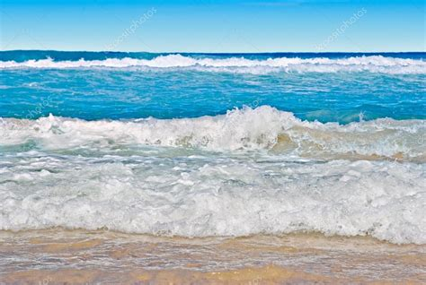 small sea tranquil sea coast with small waves stock photo 169 clearviewstock 1430290