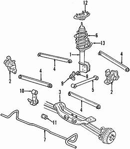Oem Rear Suspension Trailing Control Arm Buick Chevrolet