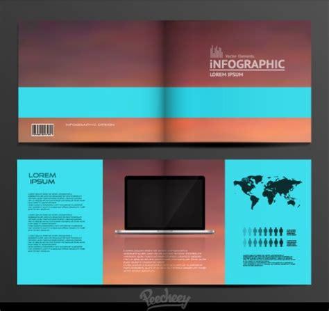 Simple Brochure Design by Simple Brochure Design Free Vector In Adobe Illustrator Ai