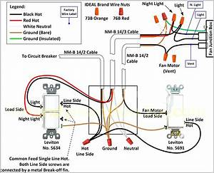 Exhaust Fan Thermostat Wiring Diagram Collection