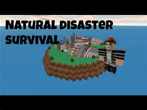 roblox natural disaster survival youtube