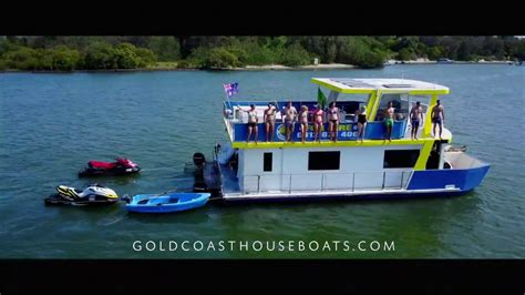 House Boats Gold Coast by Gold Coast Houseboats Tweed River Youtube