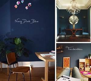 Schöner Wohnen Farbe Deep : wohnen f r viel mehr blaue wandfarbe jane wayne news ~ Bigdaddyawards.com Haus und Dekorationen