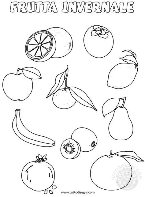cose da colorare sul computer frutta invernale da colorare tuttodisegni