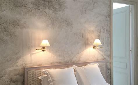 tapisserie de chambre a coucher tapisserie chambre contemporaine idées de décoration et