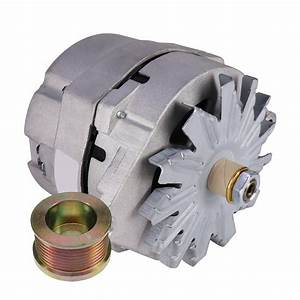 15 Si  12v  3-wire  Alternator With Pulley