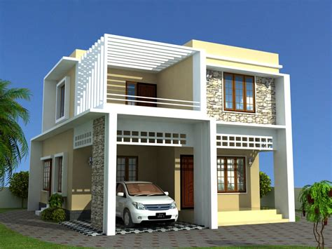 modern home models low cost house plans kerala model home plans