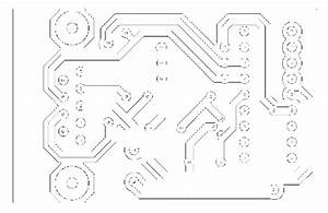 pcb etching With etched wiring board