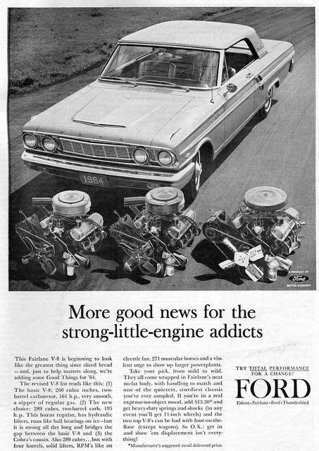 1964 Ford Fairlane 500 Sports Coupe | Vintage car ads