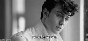 sick of people | Tumblr