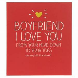 Happy Jackson Boyfriend I Love You Birthday Card ...