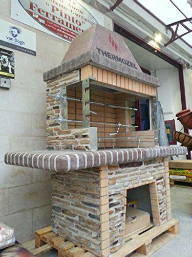 barbecue  pietra  muratura grande  forno  fuoco