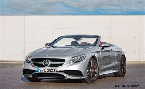 3.7s, 585hp 2016 Mercedes-amg S63 4matic Cabriolet Edition