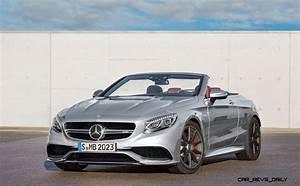 Mercedes S63 Amg : 585hp 2016 mercedes amg s63 4matic cabriolet edition ~ Melissatoandfro.com Idées de Décoration