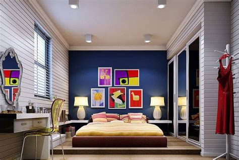 Ideas Navy Blue Walls by 15 Beautiful Blue Wall Design Ideas