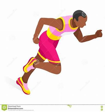 Metres Clipart Run Dash Running Athletics Icon