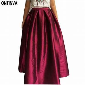 Aliexpress.com  Buy Maxi Long Skirt Floor Length Ladies High Waisted Skirts Women Neon Yellow ...
