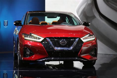 2019 Nissan Maxima Gets Refreshed, Adds Technology In La