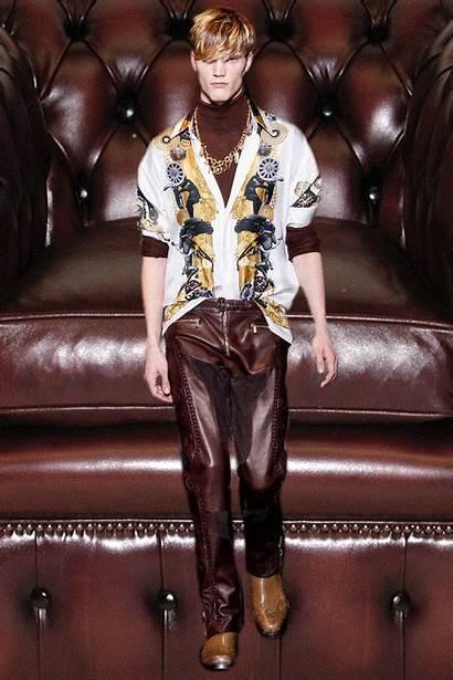 Gifs Milan Versace Chaps Cowboy Aw14 Renaissance