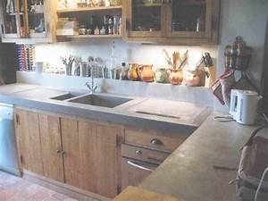 Cuisine En Bois Brut : meubles cuisine bois brut interesting meuble de cuisine brut peindre lovely meuble cuisine bois ~ Teatrodelosmanantiales.com Idées de Décoration